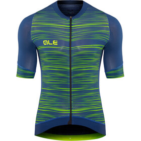 Alé Cycling Graphics PRR End Maillot Manga Corta Hombre, blue-flou green